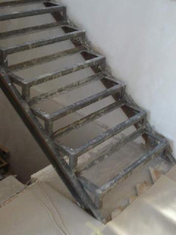 Вариант изготовления лестницы