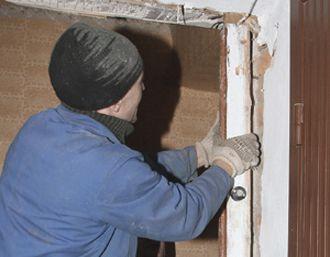 демонтаж монтаж входных дверей стоимость