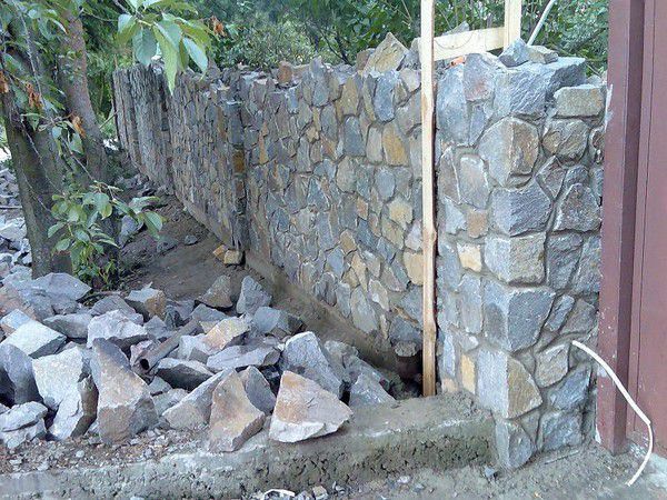Как сделать дома камень