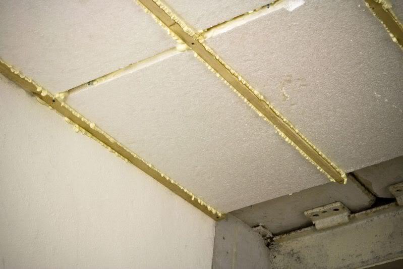 Как утеплить потолок пенопластом в подвале