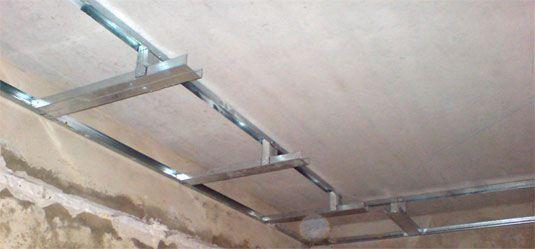 Навесной потолок своими руками пошаговая инструкция