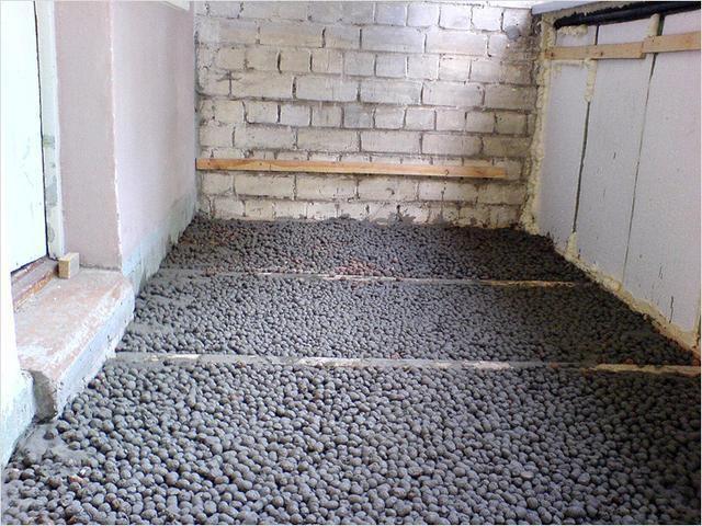 Среднюю фракцию часто используют для приготовления легкого керамзито-бетонного раствора