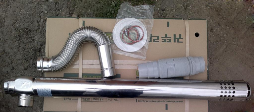 Дымоходные трубы для газовых котлов