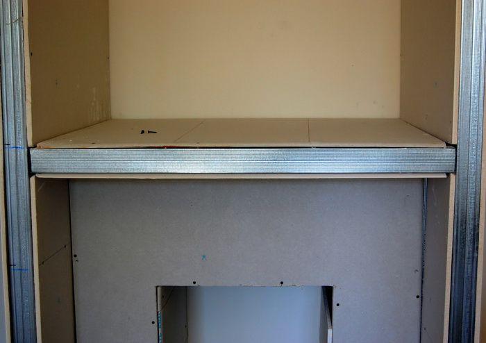 Как сделать каркас под гипсокартон для шкафа