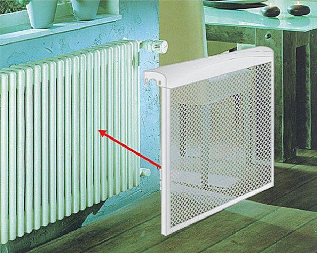 Металлические решетки на радиаторы отопления