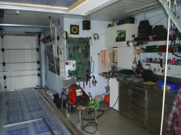 Обустройство гаража