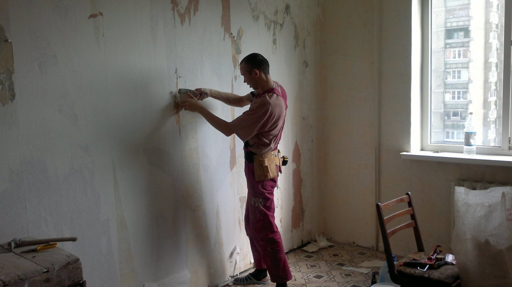 Ремонт отделка стены своими руками
