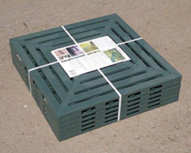Упаковка пластиковых панелей для настила дорожек