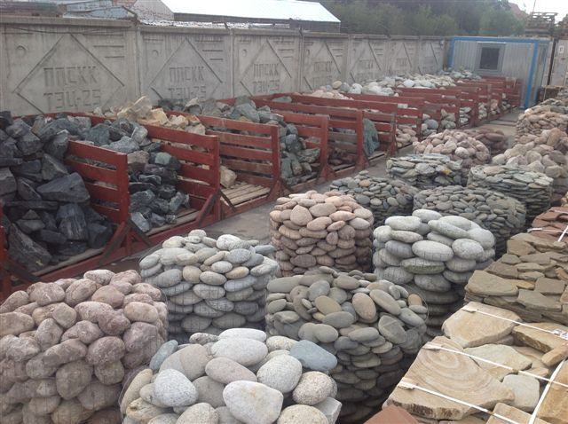 Столбики из камня своими руками
