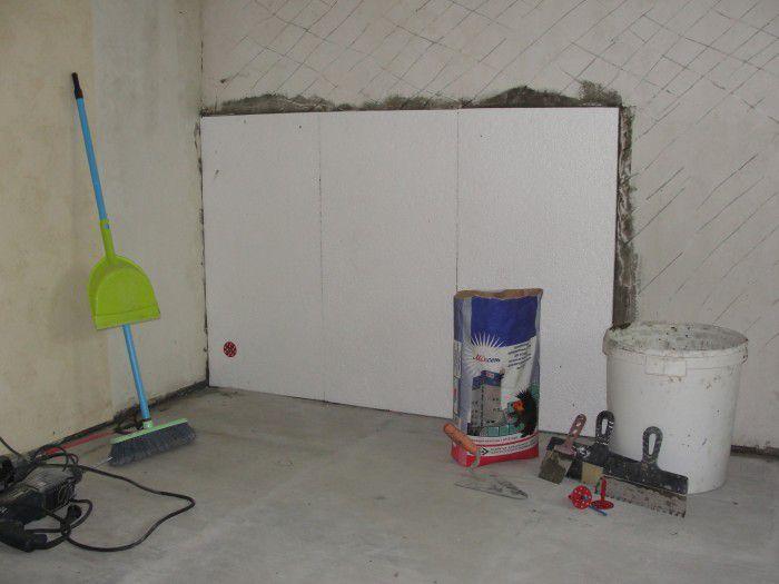 Способ утепления стен изнутри пенопластом