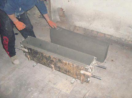 Упростить процесс помогут готовые формы для отливки бордюров