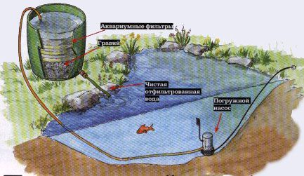 Фильтр для пруда
