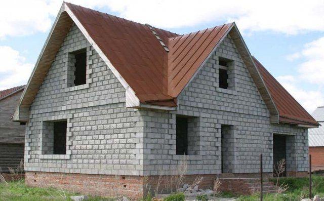 Фотографии домов из пеноблоков