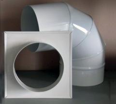 Элементы для подключения газового котла к дымоходу