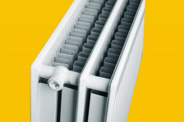 Стальной панельный радиатор типа 33 двухрядный с двумя конвекторами