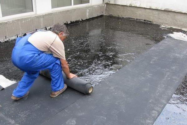 Гидроизоляция плоской крыши