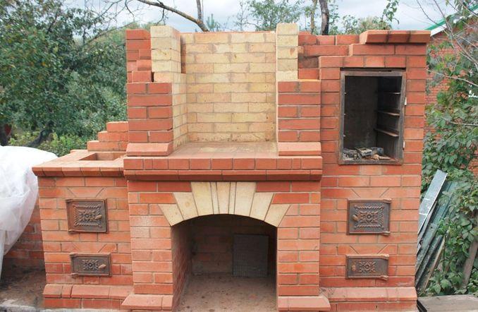Сколько нужно материала для строительства барбекю дровяные камины в краснодаре