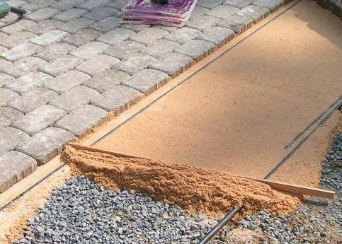 Укалкда тротуарной плитки