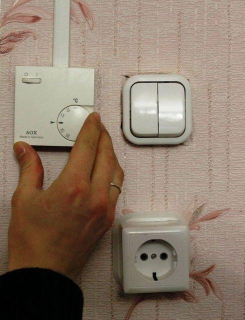 Очень важно - правильно выбрать место для термостата