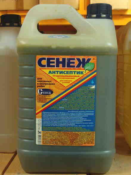 Антисептик со специальным антимикробным эффектом для бань, саун и влажных помещений