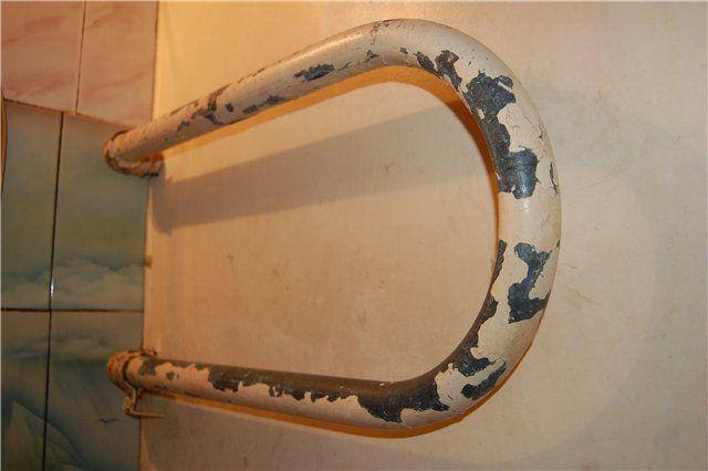 Демонтируем старый полотенцесушитель