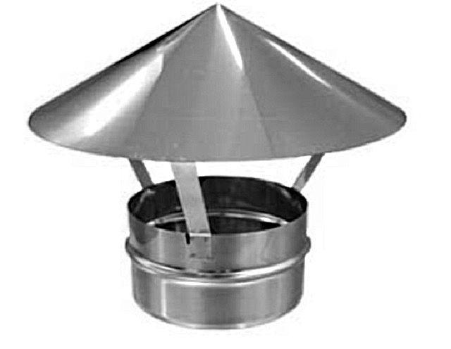 Зонтик для трубы своими руками