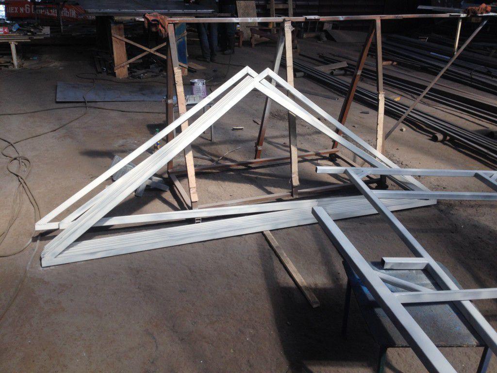 Как сделать крышу для бытовки своими руками