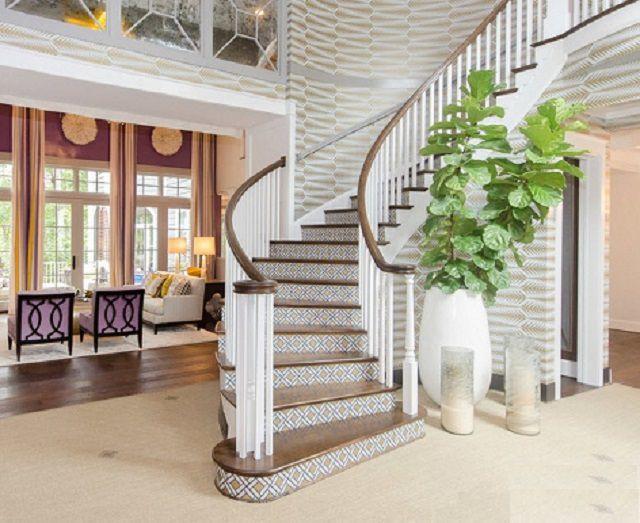 Одномаршевая криволинейная лестница