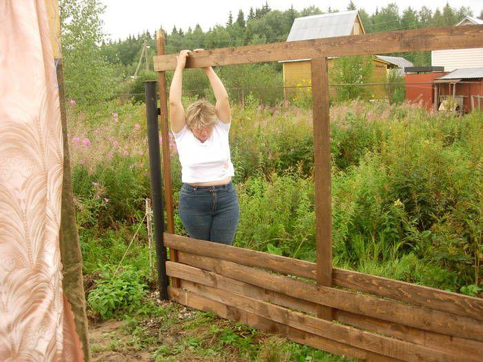 Плетёный забор
