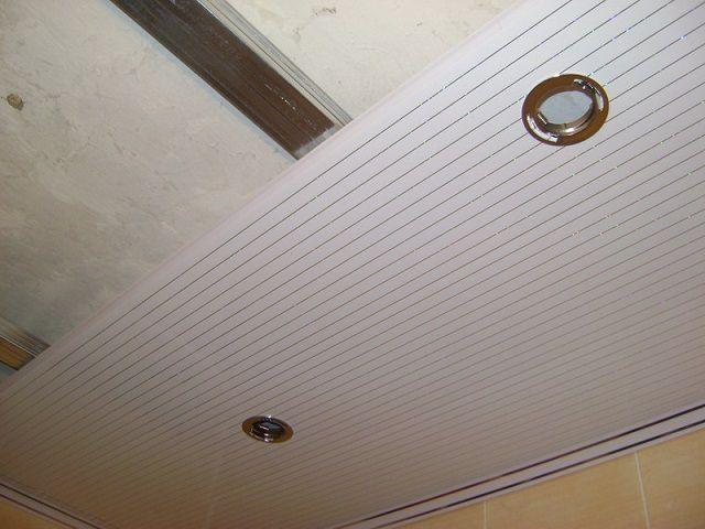 Панели, закрепленные на потолке