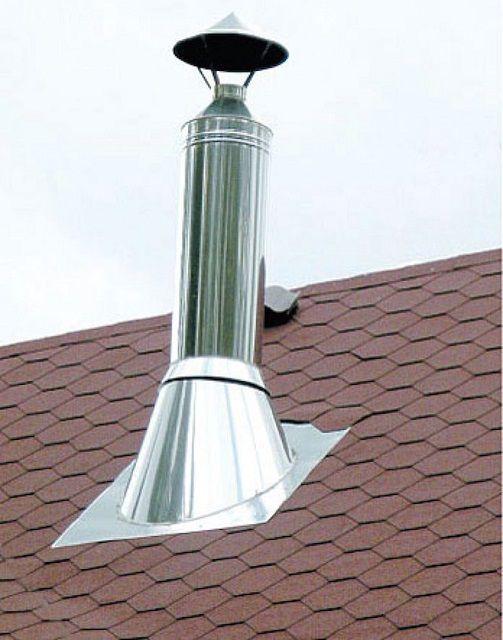 Особое внимание - местам прохода вентиляционных и дымоходных труб