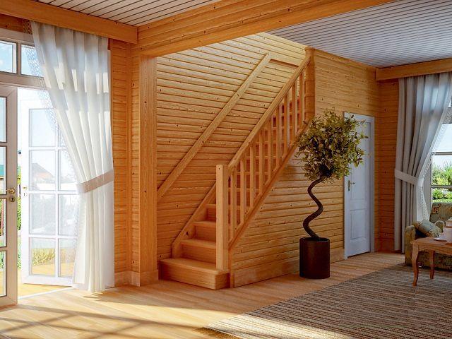От угла уклона во многом зависит комфортность пользования лестницей