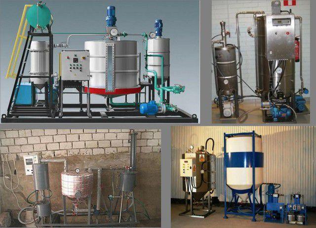 Вниманию заинтересованных людей представлено немало моделей мини-линий по производству биодизеля