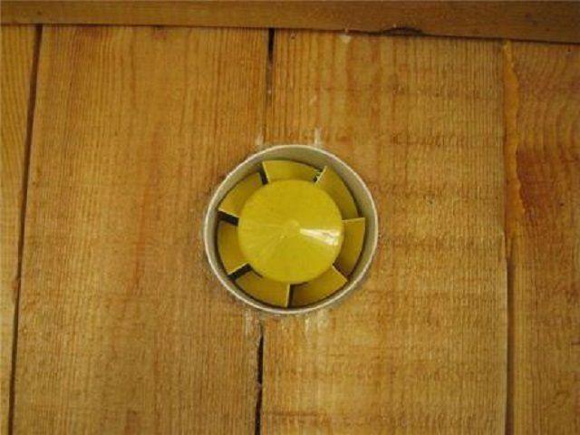 Вытяжной вентилятор для обеспечения принудительной вентиляции