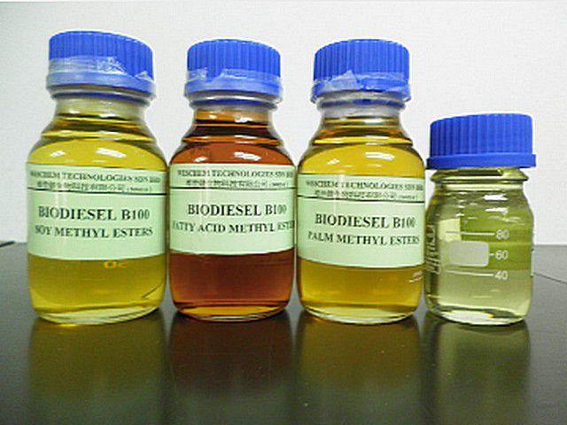 Биодизель из разных сортов масла
