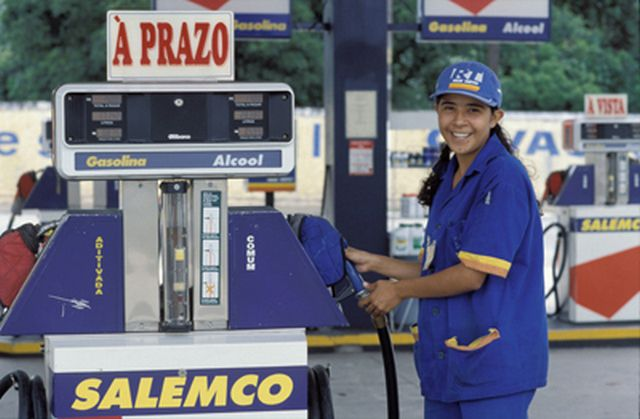 В Бразилии и многих других странах колонки с биотопливом уже никого не удивляют