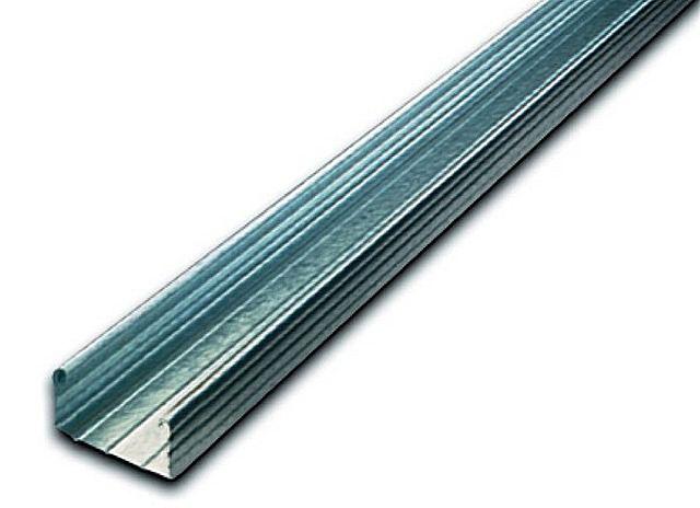 Профиль 60 × 27 мм - самый простой и недорогой вариант