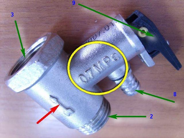 Многие модели клапанов оснащены рычажком для возможности ручного стравливания жидкости
