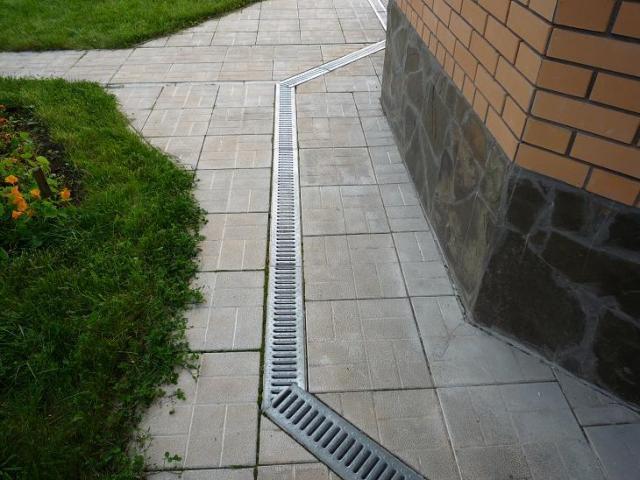 Лотки линейной системы водосбора