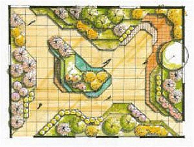 Основные принципы планировки территории по диагональному типу