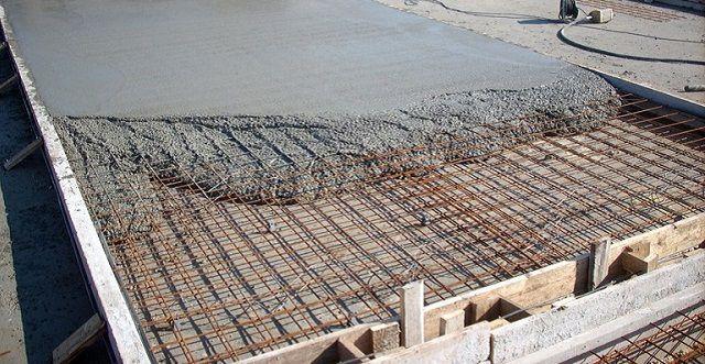 ... а далее - заливка бетонным раствором ...
