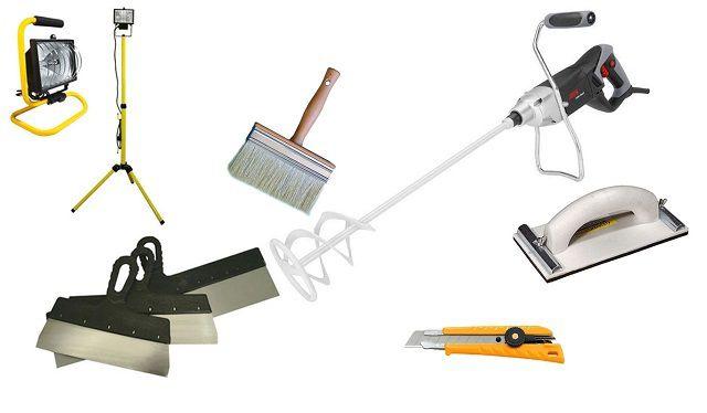 До начала работы необходимо приготовить все нужные инструменты