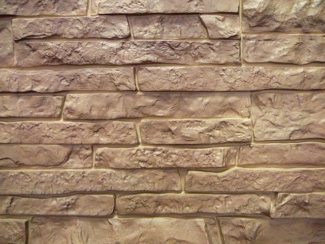 Металлический сайдинг с имитацией каменной кладки