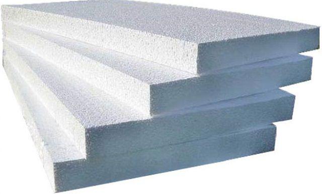 Пенопласт в условиях бани - далеко не самый лучший материал