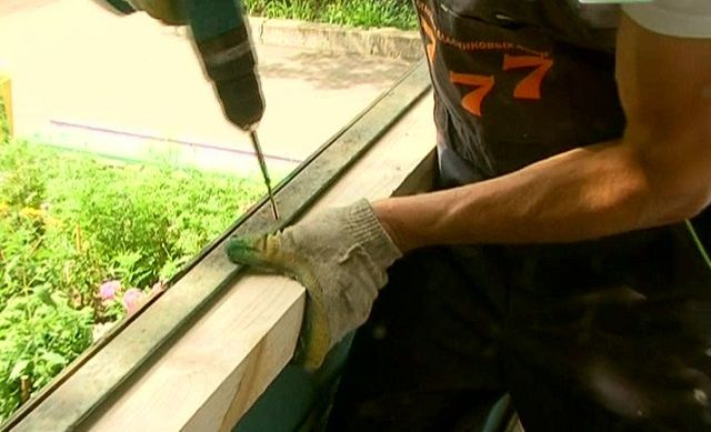 Есть смысл расширить уголок деревянным брусом