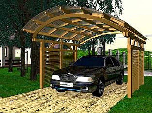 Очень часто для автомобиля бывает достаточно качественной крытой стоянки