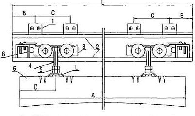 Конструкция подвесного узла двери