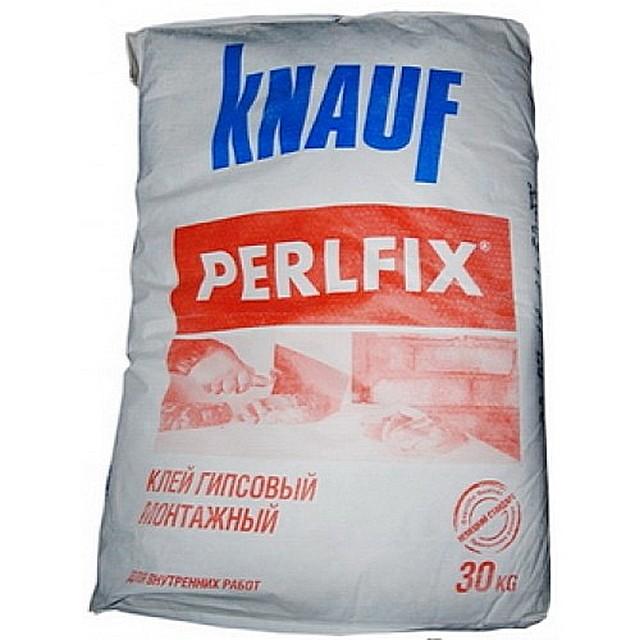 Сухая смесь Knauf - Perlfix  - строительный клей  на гипсовой основе