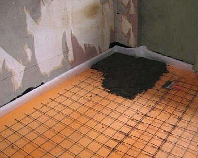 Плиты экструдированного пенополистирола тоже отлично подходят для утепления пола в бане