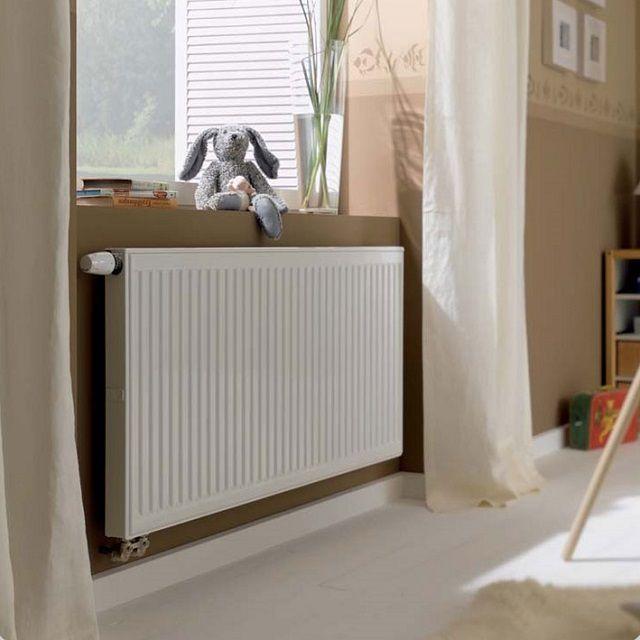 Панельный радиатор легко впишется в любой интерьер